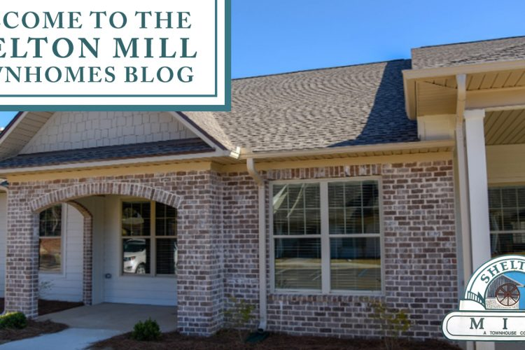 Welcome to the Shelton Mill Townhomes Blog