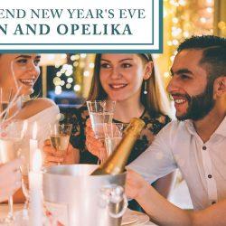 New Year's Eve in Auburn and Opelika