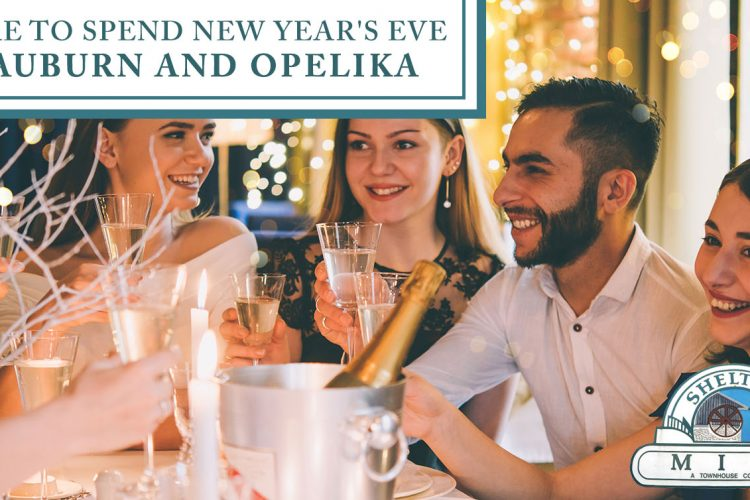 Where to Spend New Year's Eve in Auburn and Opelika