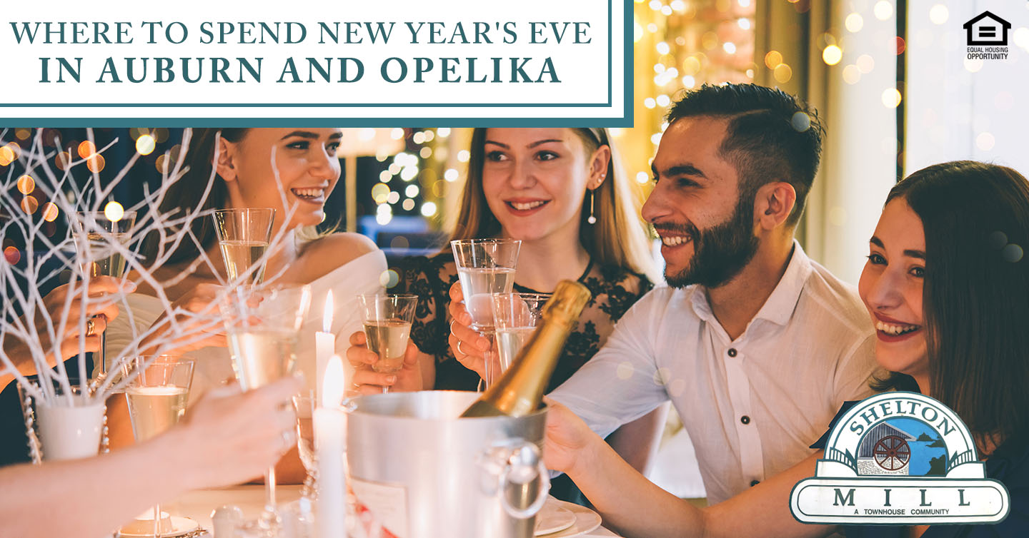 New Year's Eve in Auburn and Opelika