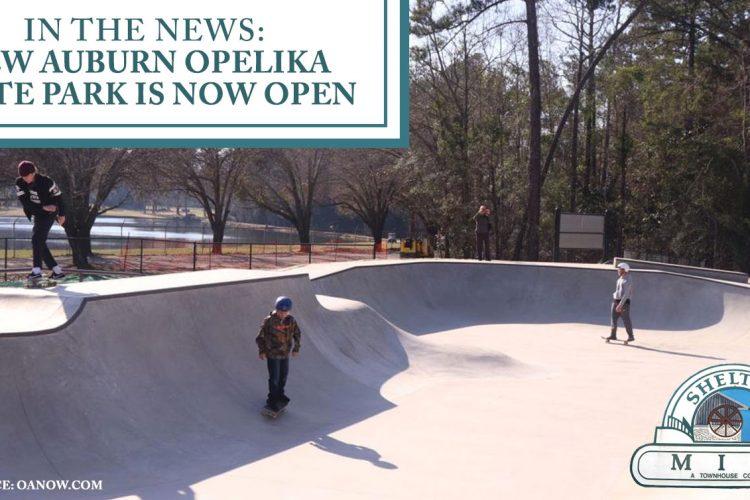 In the News: New Auburn Opelika Skate Park is Now Open