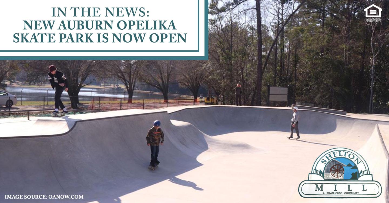 new Auburn Opelika skate park