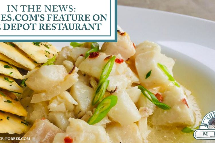 In the News: Forbes.com's Feature on The Depot Restaurant