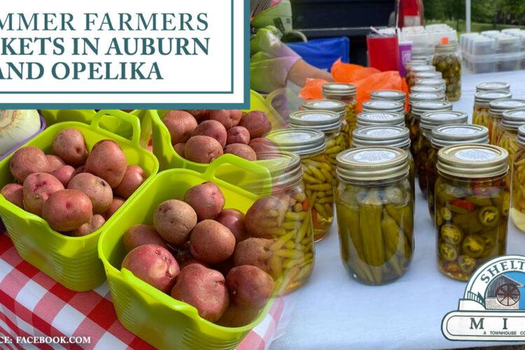 4 Summer Farmers Markets in Auburn and Opelika