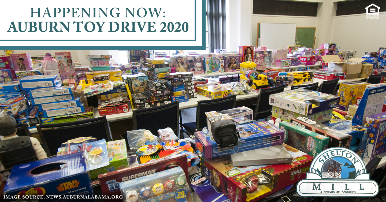 Happening Now: 2020 Auburn Toy Drive