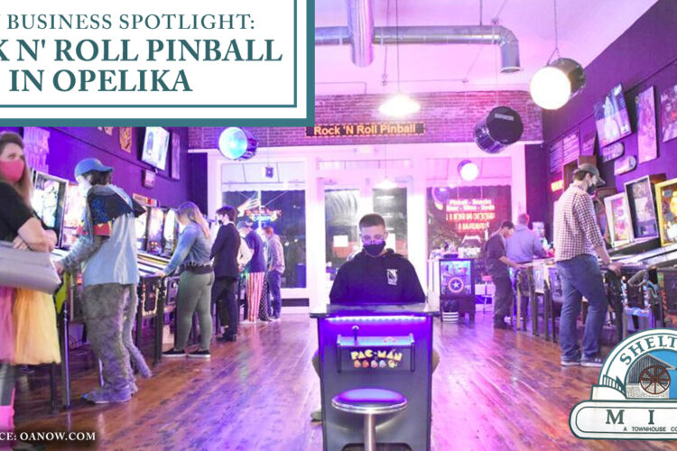 New Business Spotlight: Rock N' Roll Pinball in Opelika