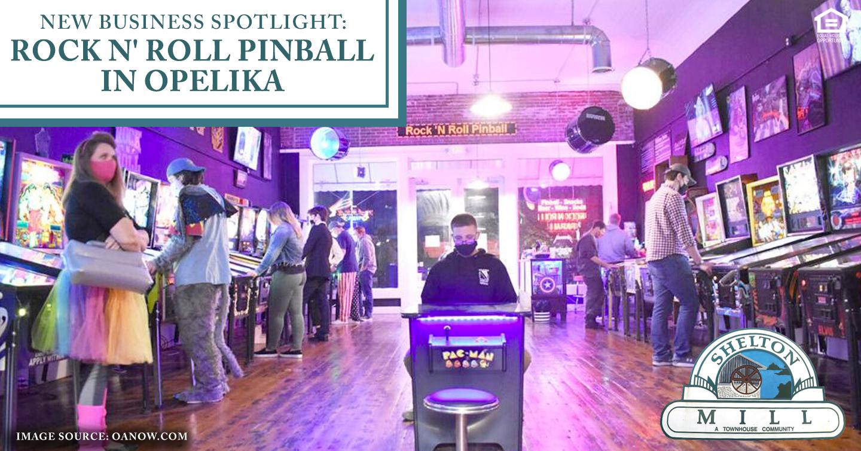 Rock N' Roll Pinball in Opelika