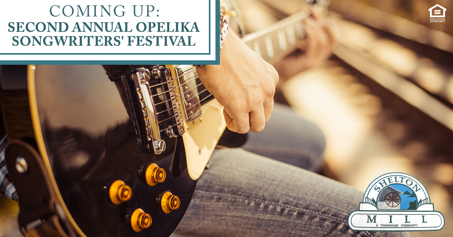 Second Annual Opelika Songwriters' Festival