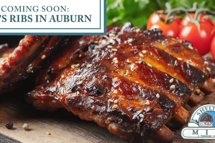 Coming Soon: Rob's Ribs in Auburn