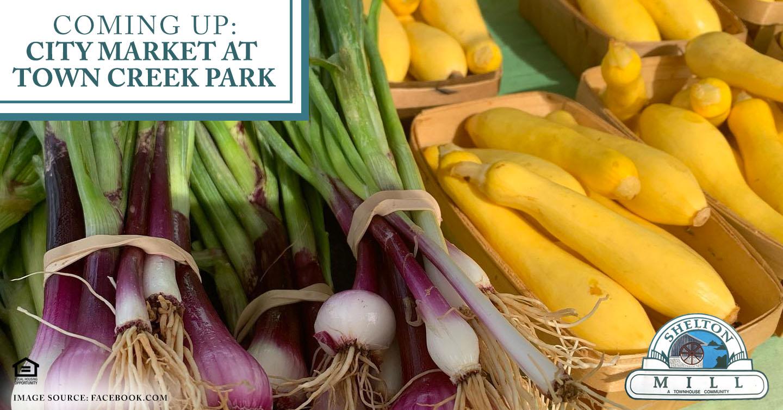 Coming Up: City Market at Town Creek Park