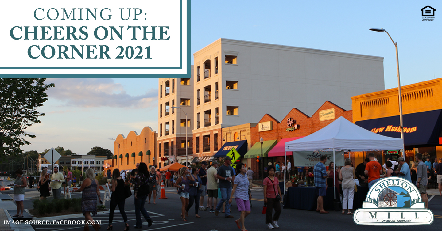 Coming Up: Cheers on the Corner 2021